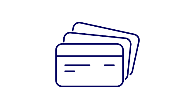 customer service find help cards icon small
